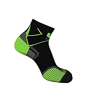 Oxyburn Herren Run Evosmart-hd Half-Cut Energr XL Socken