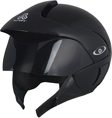 Autofy O2 Full Close Helmet (Black, M)