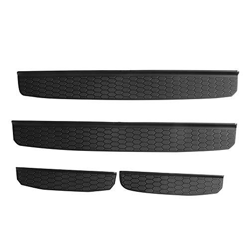 I-shop Noir de porte dentr/ée de gamme gardes protecteurs de seuil de porte