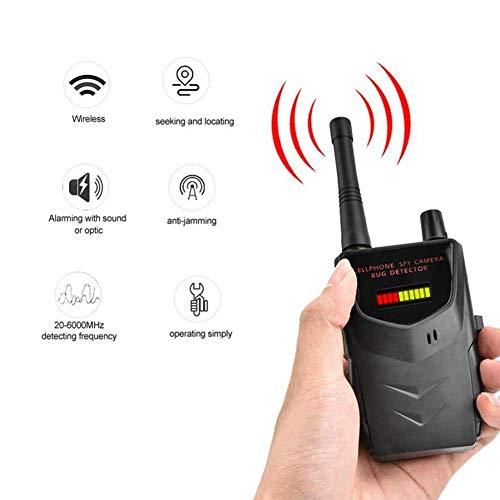 Hppbody Signal Detektor Drahtlose Kamera GPS Geräte Sucher Bug Detektor Sicherheitsüberprüfung an wichtigen Orten,10-stufiges LED-Balkendiagramm,Empfindlichkeitsbereich: 1 MHZ-8000 MHz, NZ09 (Kamera-mikrofon-detektor)