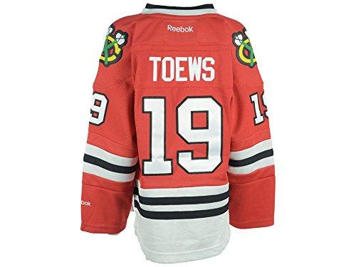 Jonathan Toews Chicago Blackhawks Reebok NHL Youth Kinder Premier Jersey Trikot - Red