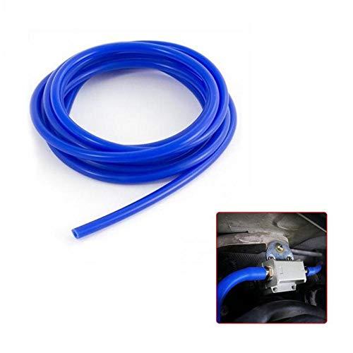 PENVEAT 3mm / 4mm / 5mm / 6mm / 7mm / 8mm / 9mm Gartenbewässerungsschlauch Silikon-Vakuumschlauch Schlauch Blauwasser-Luftschlauch Gartenbedarf, 4mm