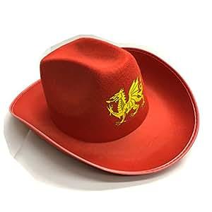 Wales Welsh Golden Dragon Cowboy Hut