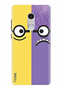Noise Designer Printed Case / Cover for Xiaomi Redmi Note 4 / Animated Cartoons / Saint and evil minion Design