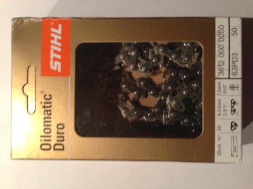 Stihl Sägekette Picco Duro 3 PD3 3/8 1,3 mm 50 Glieder Hartmetallkette