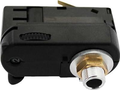 GlobalTrac 3-Phasenstromschiene Ausspeiser Stromabnehmer mit Leuchtenhalter M13 schwarz von Global Trac auf Lampenhans.de