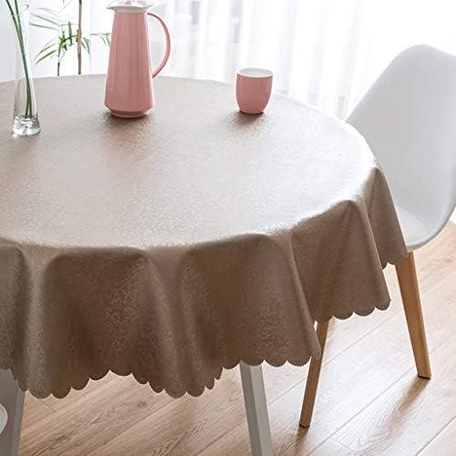 GXQ Tovaglia di tovaglie a forma di ristorante usa e e getta impermeabile e usa tondo, multi-Dimensione (Coloreee   B, dimensioni   220cm(87inch)) b82afd