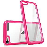 i-Blason Halo Series - Funda Transparente para APPLE iPod touch 6/5, rosa