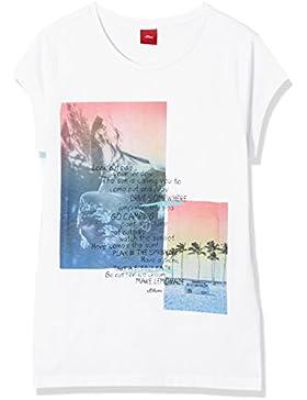 s.Oliver Mädchen T-Shirt 73.706.32.4880