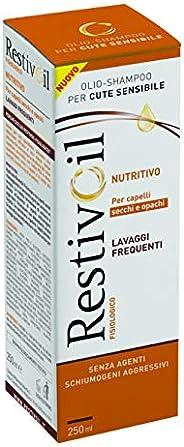 RestivOil Shampoo Fisiologico Nutriente per Capelli, Olio Fisiologico con Azione Idratante Protettiva e Ripara