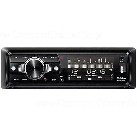 Peiying PY-9398 - Reproductor de medios digitales Bluetooth Para coche MP3/USB/SD/MMC Radio RDS