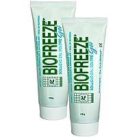 Biofreeze - Set de 2 tubos de gel para aliviar el dolor muscular - 118 ml