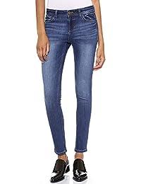 DL1961 Femmes Florence Thornton Jeans Bleu