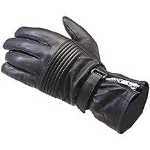 Viper DB8ligera Piel Verano Guantes de moto, color negro