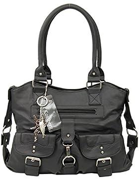 Kossberg Modell Daleone Damen Schultertasche Henkeltasche Bag