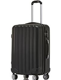 BEIBYE TSA-Schloß 2080 Hangepäck Zwillingsrollen Reisekoffer Koffer Trolley Hartschale Set-XL-L-M(Boardcase)