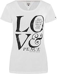 TOMMY HILFIGER - T-shirt pour Femme LUXIE