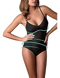 Body Reductor SIN Costuras | Faja MODELANTE DE Mujer | S M L XL XXL | Blanco,