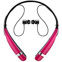 LG Tone Pro II - Auriculares in-ear, rosa