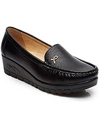 Cestfini Señoras Zapatos Planos con Talón Cuña, Todos Estaciónes Zapatos Cómodos Casuales Para Mujer