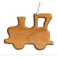 Christbaumschmuck aus Holz | Lokomotive | Tannenbaumschmuck | Weihnachtsbaumschmuck | handgemachte Holz Anhänger | Geschenkanhänger