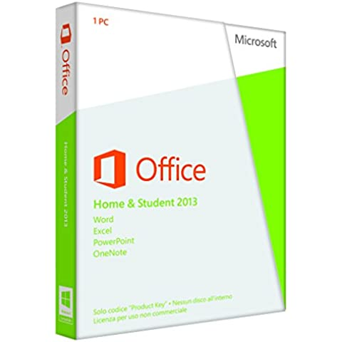 Microsoft Office Home and Student 2013, 32 & 64 Bit  [Lingua: (Software)