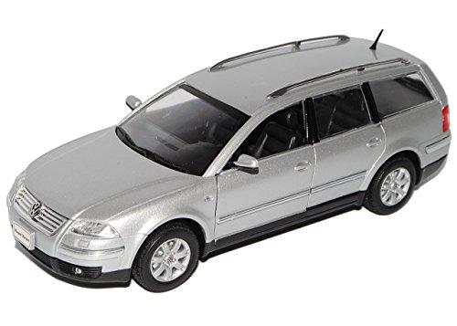 vw-volkswagen-passat-silber-variant-kombi-2000-2005-3bg-1-24-welly-modell-auto-mit-individiuellem-wu