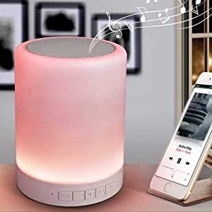 ITRUE TG157 Bluetooth Speaker 4.2 Mini Portable Wireless Outdoor Speaker with Melody Colorful Lights,Built-in Mic,Support TF Card, Aux-in, Micro SD & Immersive Sound for Phone/PC