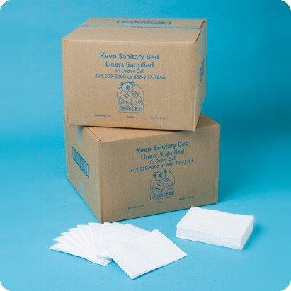 Wickeltisch Papierabdeckung - Auflagen für Babywickelstationen, Variante:Größe B