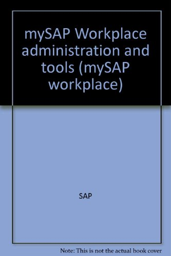 sap-mysap-workplace-administration-tools