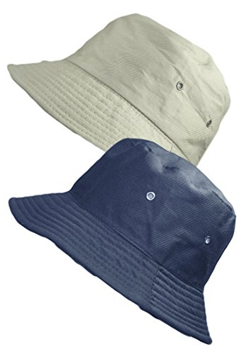 TOSKATOK® UNISEX REVERSIBLE COTTON SUMMER BUCKET/BUSH HATS
