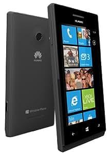 Huawei Ascend W1 Smartphone Touch, Fotocamera da 5 Megapixel, Wi-Fi, Nero [Italia]