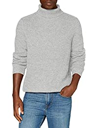 Marque Amazon - find. Pull Col Roulé Homme