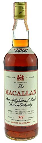 The Macallan Whisky 0,7l Jahrgang 1938 - Pure Highland Malt Scotch Whisky