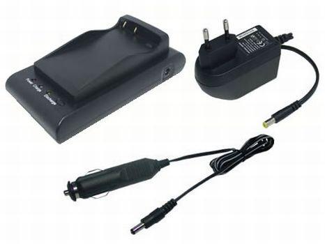 PowerSmart® Ladegerät + Kfz-Ladekabel für für Canon BP-711, BP-714, BP-722, BP-726, BP-729, BP-818, BP-E718, BP-E722, BP-E77, BP-E77K, BP-E818 Bp-711 Camcorder
