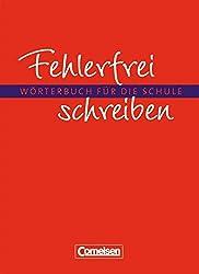 Fehlerfrei schreiben: Wörterbuch: Flexibler Kunststoff-Einband