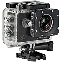 SJCam SJ5000 WiFi - Videocamera sportiva (LCD 2.0in, 1080p 30 fps, impermeabile fino a 30 m) colore nero (ricondizionato)