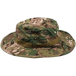 Al aire libre táctico militar Sun Camo Sombrero (CP)