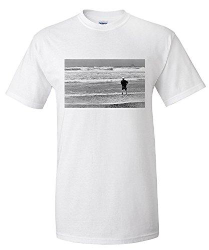 surf-fishing-on-pacific-ocean-wa-photograph-premium-t-shirt