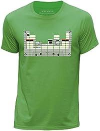 STUFF4 Men's Round Neck T-Shirt/Equalizer/Tape/CS