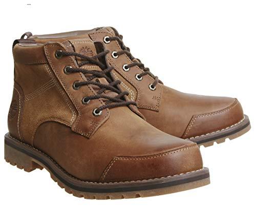 Timberland Larchmont Chukka, Botas Clasicas para Hombre, Marrón (Medium Brown Nubuck), 46 EU