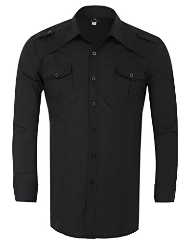 slim-fit-dress-shirts-for-men-big-and-tall-solid-double-collar-buttons-up-french-cuff-handsome-xl-kl