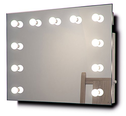 Diamond X Collection Hollywood Theater-Garderobe LED-Schminkspiegel k95CW