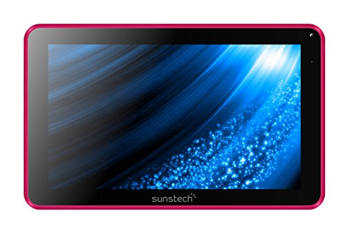 "Sunstech TAB93QCBT - Tablet de 9"" (WiFi, Allwinner A33 Quad Core 1.3 GHz, 512 MB de RAM, 8 GB de Memoria Interna, Android 4.4.2 Kit Kat) Color Rosa"