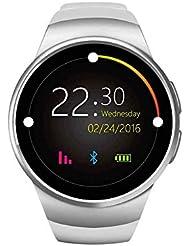 HD Bluetooth Smart muñeca reloj deportivo cámara iOS Android, al aire libre deporte sistemas de navegación, reloj inteligente y reproductor de vídeo, visión nocturna Bluetooth reloj para las mujeres, los hombres deporte reloj LED Cuarzo Alarma Reloj de pulsera