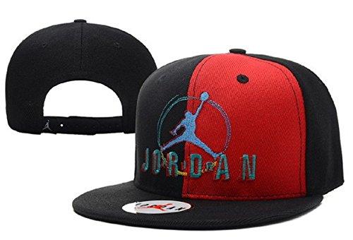 Cappello Air Jordan regolabile Hip Hop Sport Fans Hyst Unisex eresen Logo cappellino da Baseball (Nero, Blu, 1)