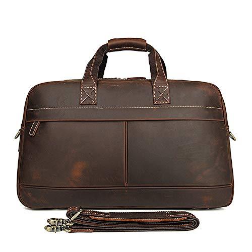 (GCCLCF Neue Outdoor Gepäcktasche Leder-Schulter Messenger Tasche Trend Großhandel Handtasche)