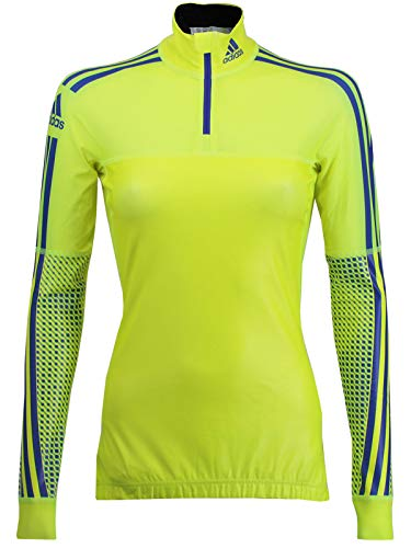 adidas Damen Langarm X-Country Top Warm Shirt Langlauf Wintersport Laufshirt (40 Langgröße) -
