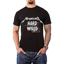 Metallica T Shirt Hardwired to Self Destruct Difficulties Oficial de los Hombres