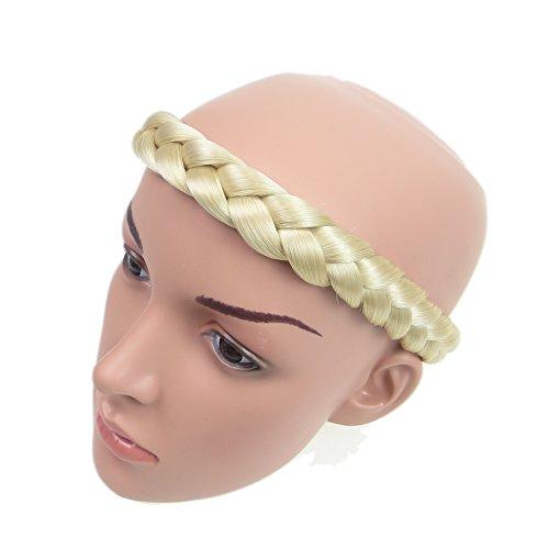 Alle Farben sind erhältlich, Wasserstoffblond Stämmige Geflochtene Haarband Haarverlängerung